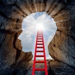 Kan livet sammenlignes med en stige?
